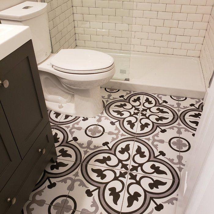 Mora Classic 12 X 12 Ceramic Field Tile Bathroom Decor Themes