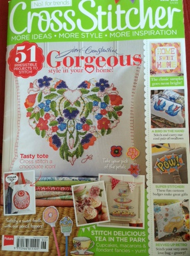Cross Stitcher Magazine June 2013 Issue 266 | eBay
