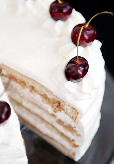 White Russian Cream Cake