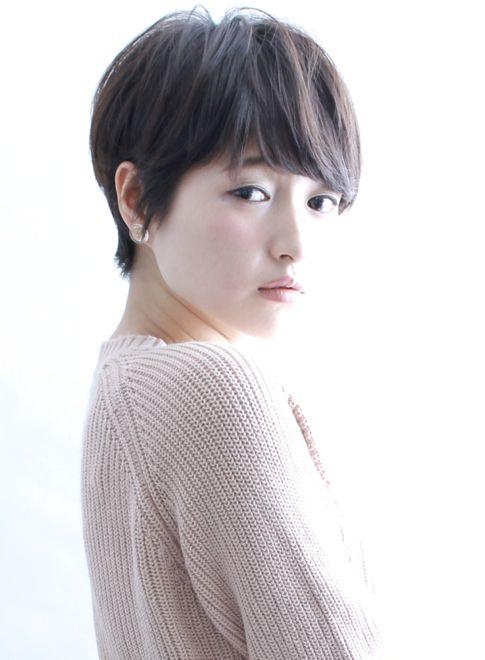 大人シルエットショート|髪型・ヘアスタイル・ヘアカタログ|ビューティーナビ