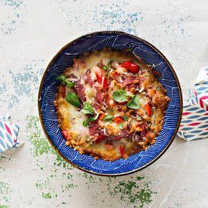 Pizzabowl eli pizzakulho | K-Ruoka #kulho #kulhoruoka