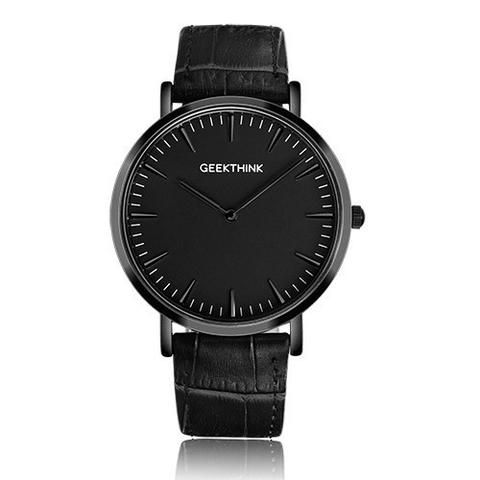 GEEKTHINK Top Brand Luxury Quartz watch men Business Casual Black Japa – Blueshine Jewellery