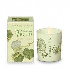 Hársfavirág illatgyertya - Rendeld meg online! Parfüm és kozmetikum család az olasz Lerbolario naturkozmetikumoktól