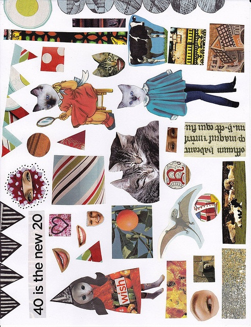 graphic regarding Free Printable Collage Sheets identify Collage Sheet by way of Becky F, by way of Flickr Collage Pets