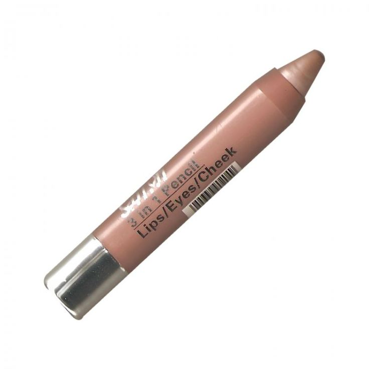 Saffron 3 in 1 Twist up Crayon - Nude, Saffron's 3 in 1 chubby crayon is Ideal for eyes, lips and face. - Love makeup, love our low prices, view our wide range of products from Saffron Cosmetics Collection. Postage starts from only 75p (UK Only),