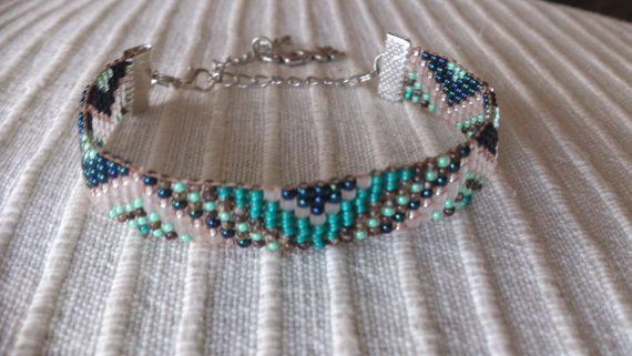Hey, I found this really awesome Etsy listing at https://www.etsy.com/listing/203740955/loom-beaded-bracelet