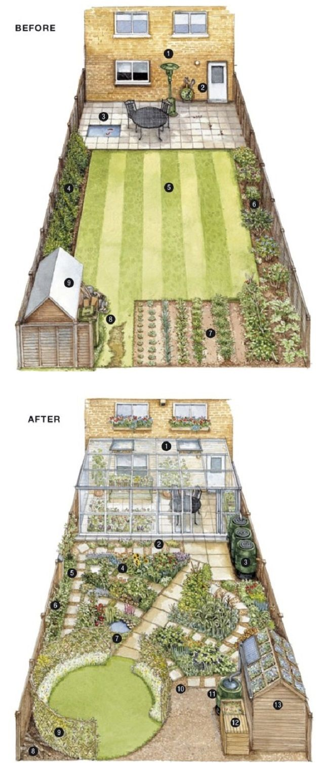 Urban areas are not very appropriate for eco-gardening, as the environment is not a suitable one. But John Walker has