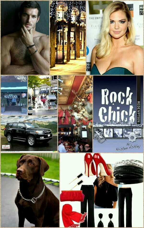 (Roxie & Hank)  I Made this to entertain with at my Rock Chick series party. Righteous!