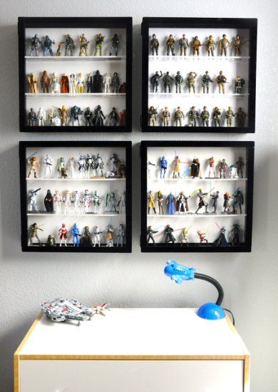 Amazon.com: Action Figure Display Case: Toys U0026 Games