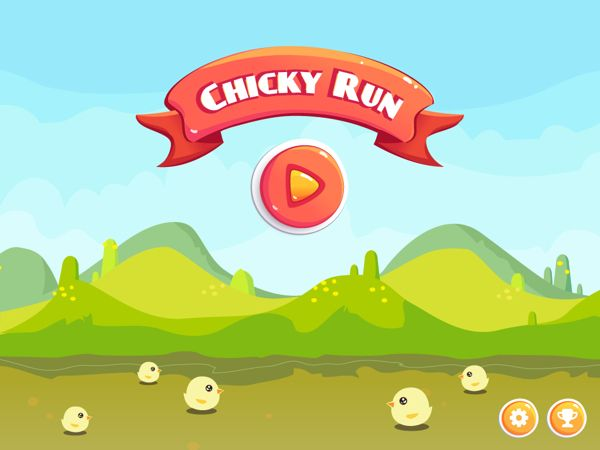 Chicky Run [game app] on Behance