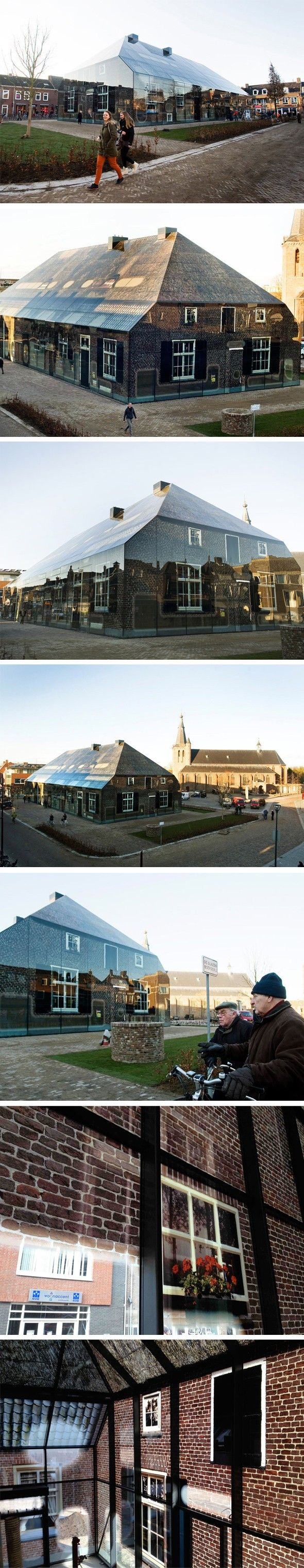 Glass farm mvrdv illusion archétype démesure lumière