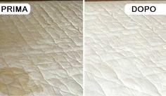 Metodi naturali per eliminare macchie e cattivi odori dal materasso