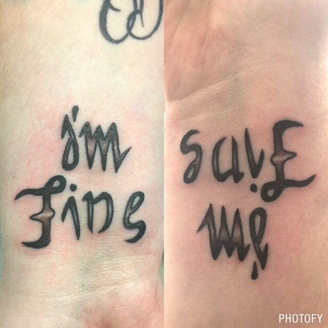 I'm fine // Save me