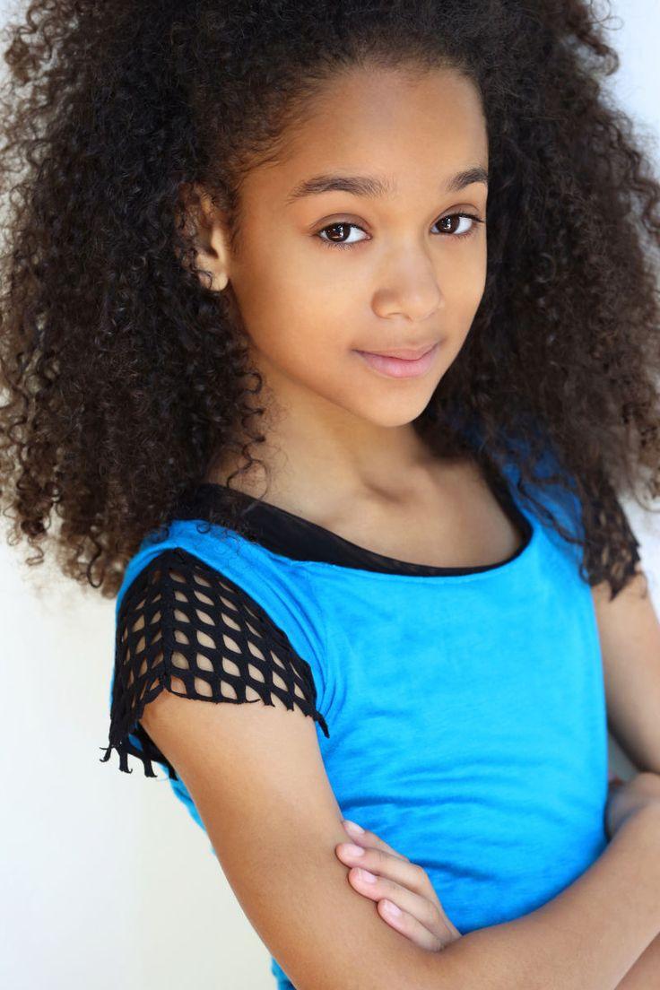 la kids african american theatrical headshots - Google Search