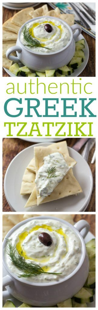 She learned how to make it while visiting Athens - this is the best way to make REAL authentic Greek tzatziki! I love that you can make it ahead of time and it just keeps getting tastier. Saving this one!
