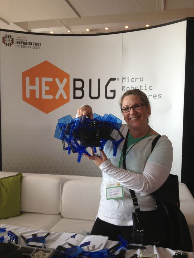 HEXBUG at Blogger Bash! I got to see new toys from HEXBUG!