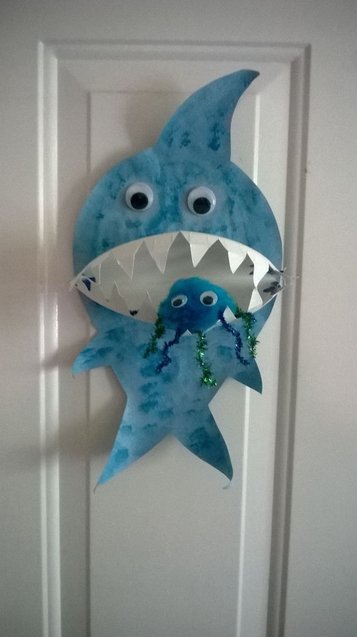 Design muse shark week - Shark Week Craft Shark Craft For Kids And Preschoolers Easy Shark Craft For Kids