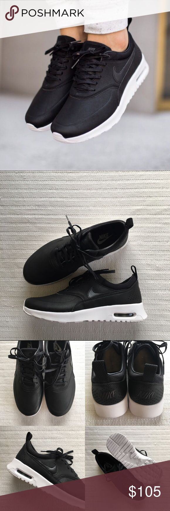 Women's Nike Air Max Thea Premium Sneakers Women's Nike Air Max Thea Premium Sneakers Style/Color: 616723-007  • Women's size 7  • NEW in box (no lid) • No trades •100% authentic Nike Shoes Sneakers