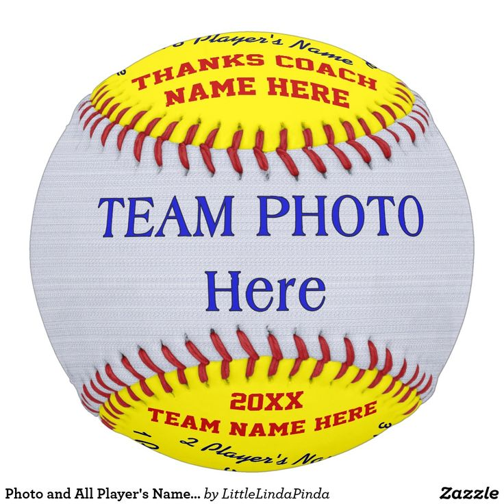 Best Softball Coach Gifts with Your Team PHOTO and All Player's Names, Softball Coach Name, Year and Message. CLICK: https://www.zazzle.com/z/yhe0m Personalized Softball Gift Ideas for Softball Coaches. CALL Zazzle Designer Linda to Change COLORS, DESIGN or for HELP: 239-949-9090 Coolest Gift Ideas for Softball Coaches and Assistant Coach Gifts. More personalized softball gifts for coaches and players HERE…