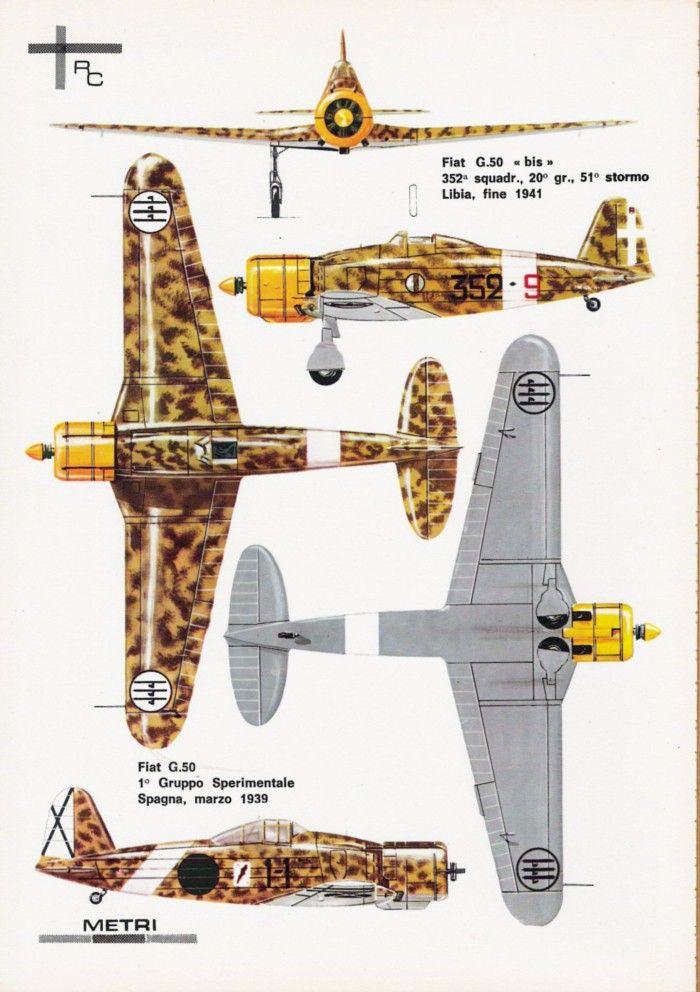 Dimensione Cielo - Fiat G.50