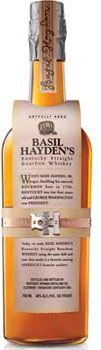 Basil Hayden's is the lightest bodied of the Jim Beam portfolio of small batch Bourbons.    If not straight up: Use this lighter bourbon in place of vodka in a bloody mary — it adds an extra layer of depth.  I need to try!