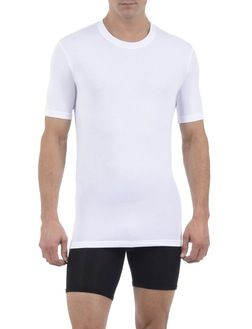 Never come untucked fitted undershirt.  Cool Cotton Undershirts | TOMMY JOHN