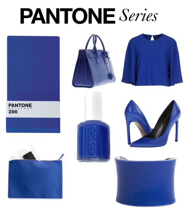 """Pantone 286"" by purelypriscilla on Polyvore"