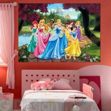 Disney Princess Castle Poster XXL
