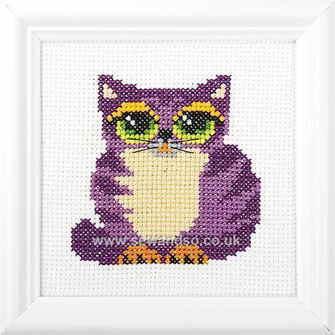 Cat Cross Stitch Kit