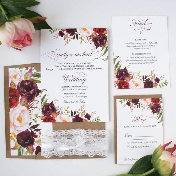 reception information on back of wedding invitation%0A Rustic Wedding Invitations Vistaprint