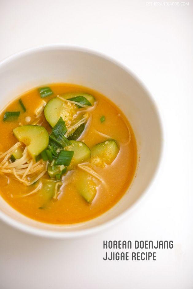 how to make doenjang jjigae. how to make korean bean paste soup. korean soup recipes. doenjang jjigae recipe. jjigae recipe. 된장찌개. korean fo...
