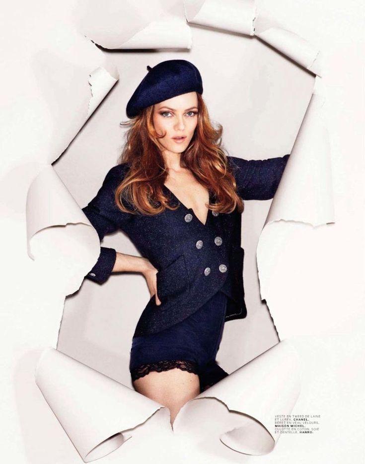 Vanessa Paradis Takes on Parisian Fashion for Jalouses September 2012 Cover Shoot
