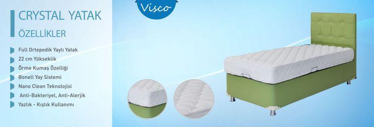 Full Ortepedik Yaylı Yatak     22 cm Yükseklik    Örme Kumaş Özelliği    Bonell Yay Sistemi    Nano Clean Teknolojisi    Anti-Bakteriyel, Anti-Alerjik    Yazlık - Kışlık Kullanımı