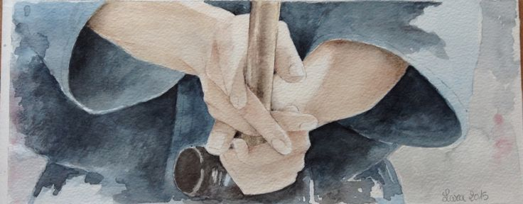 Samurai have no reason to behave cruelly do not need to show their strength ..a Samurai is courteous even with enemies ... without such a show of respect a man is little more than an animal .. Kendō training part 3  #HiroyukiSanada #watercolor #thelastSamurai #love #peace #真田広之 #acquerello #art #draw #paint  Hiroyuki Sanada ,the Last Samurai ,watercolor