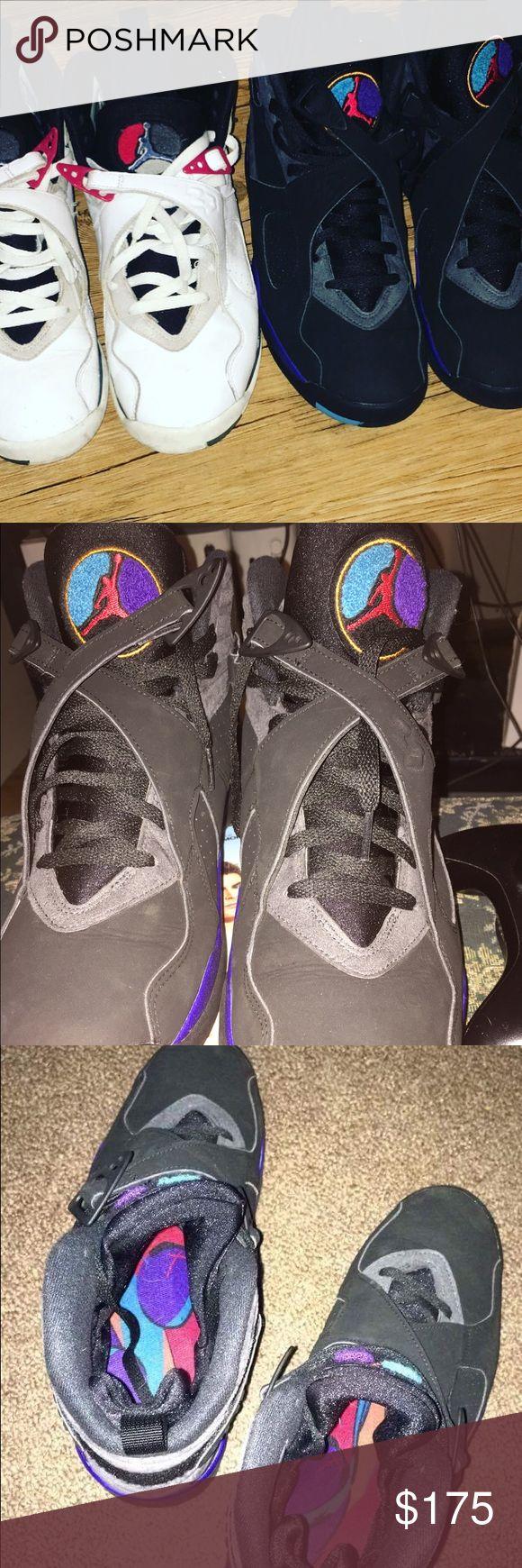 Jordan aqua 8s and Jordan bugs bunny 8s Looking for trades Jordan Shoes Athletic Shoes
