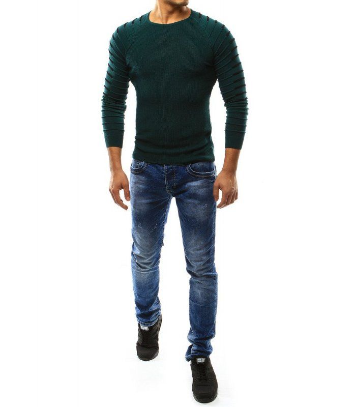 Pánsky zelený sveter