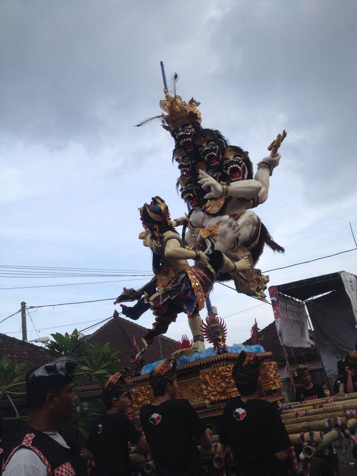 Happy Nyepi Day to all friends who are now celebrating #bali #nyepi #silenceday #culture #ogohogoh