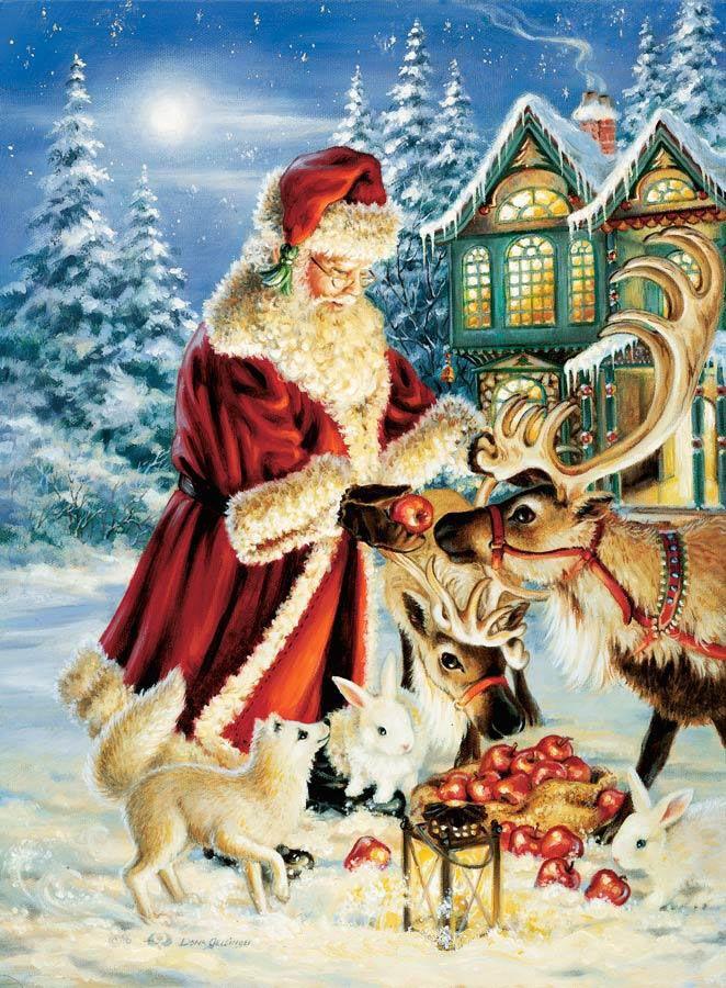 Рождество самые красивые картинки