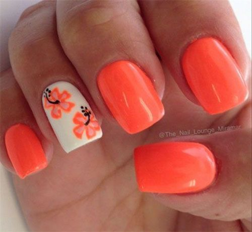 15+ Great & Quite Summer time Acrylic Nail Artwork Patterns, Concepts, Trends & Stickers 2015 | Nail Design