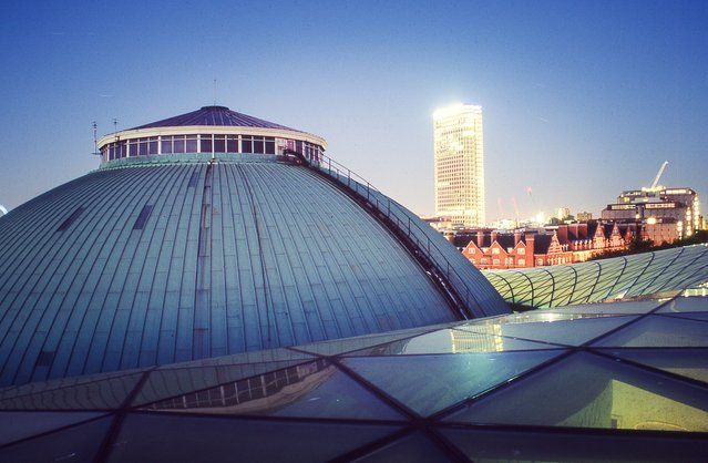 British Museum, Bloomsbury | London From The Rooftops #piclectica