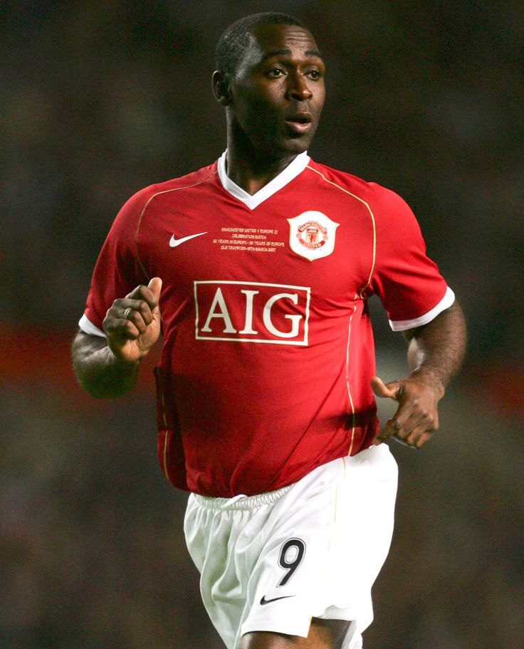 Andy Cole - Legend! My favourite strike force of EPL history, this guy and Dwight Yorke