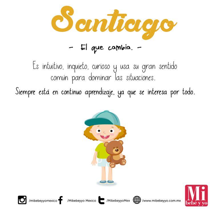 Santiago #NombresDeBebé #RecomendaciónMIB