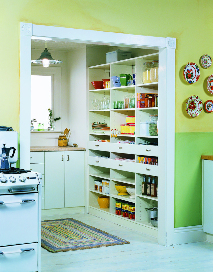 California closets pantry design california closets for Small pantry closet ideas