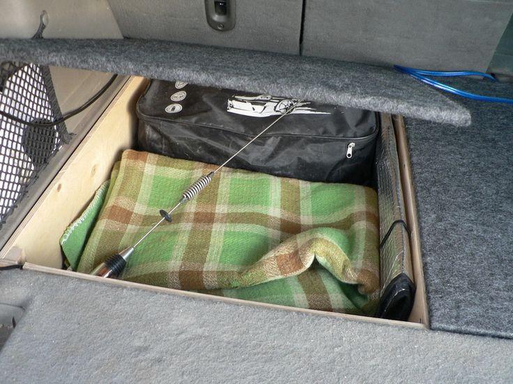 Изготовление ящиков в багажник Jeep Commander