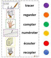 La classe de Sanléane: Les cartes à pinces - Maths, Lecture, EDL