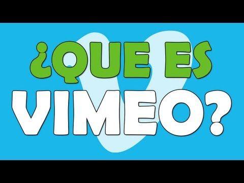 ¿Qué es Vimeo?