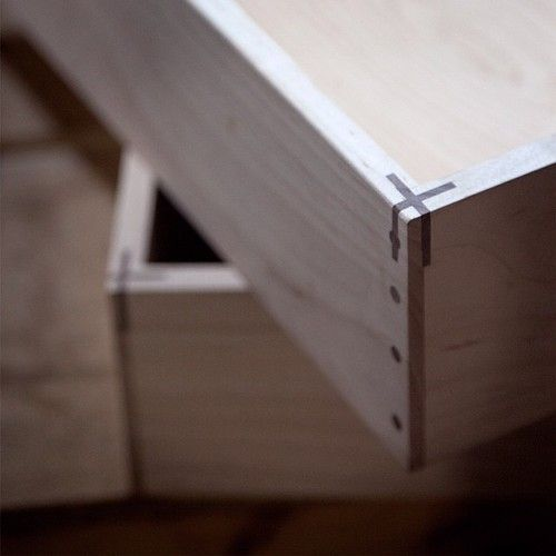 Stunning. Gorgeous. Incredibly inventive joinery.