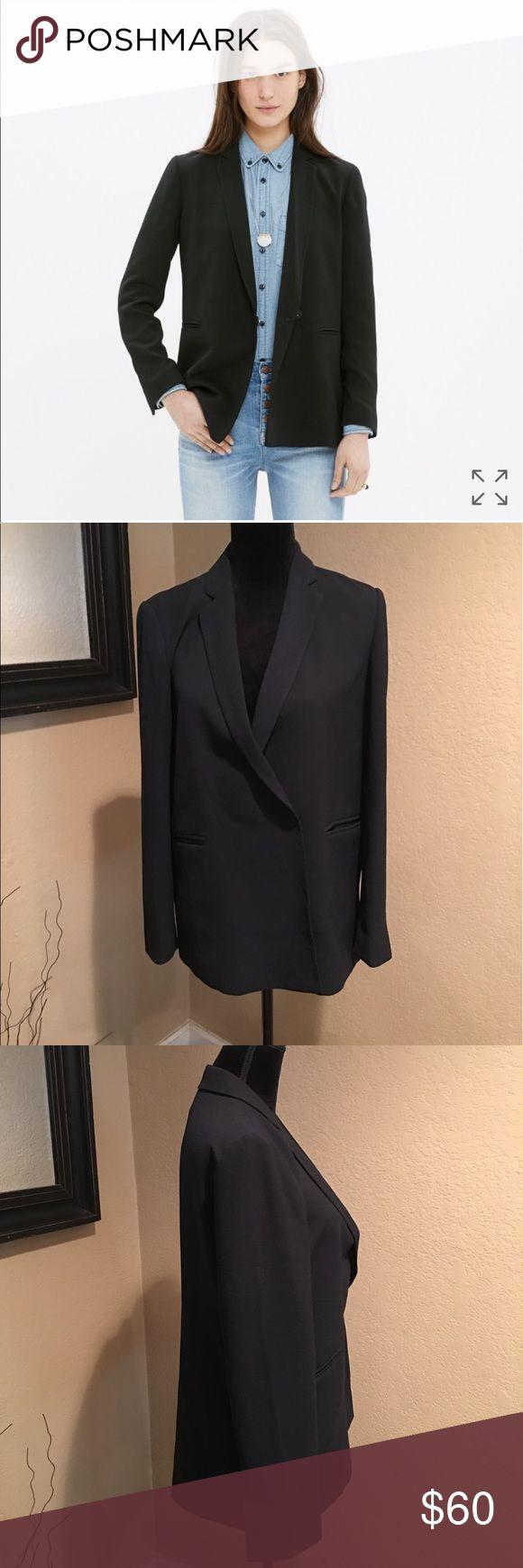 Madewell. Boy blazer Super cute Blazer!  Pre owned. Great condition! Madewell Jackets & Coats Blazers