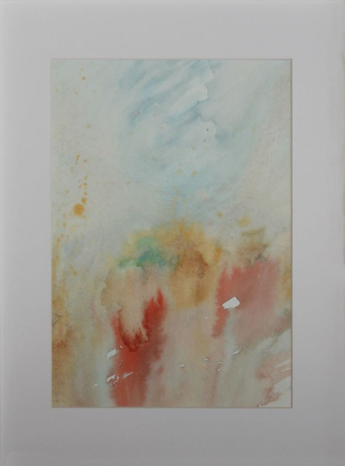 """Men in Red"" 2015 21 x 30 cm Watercolour on cotton paper 300 g luigibarra.blogspot.it"