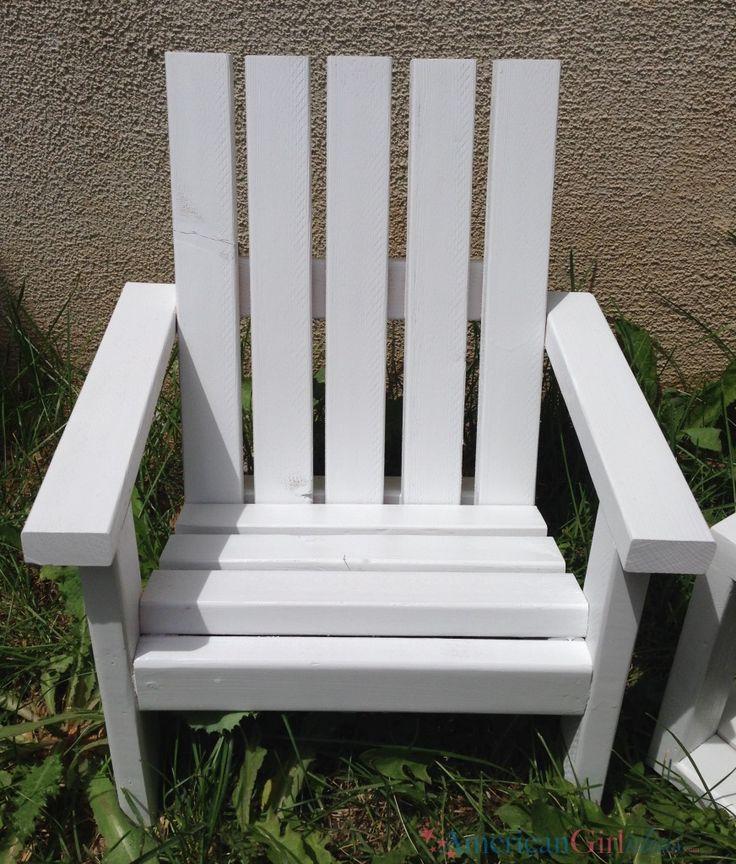 American Girl Adirondack Chair